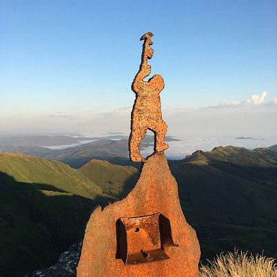 's Ochtends om 7:20 gestart en om 8:00 de zon vanaf de Pico la Miel zien opkomen. Pittige maar f