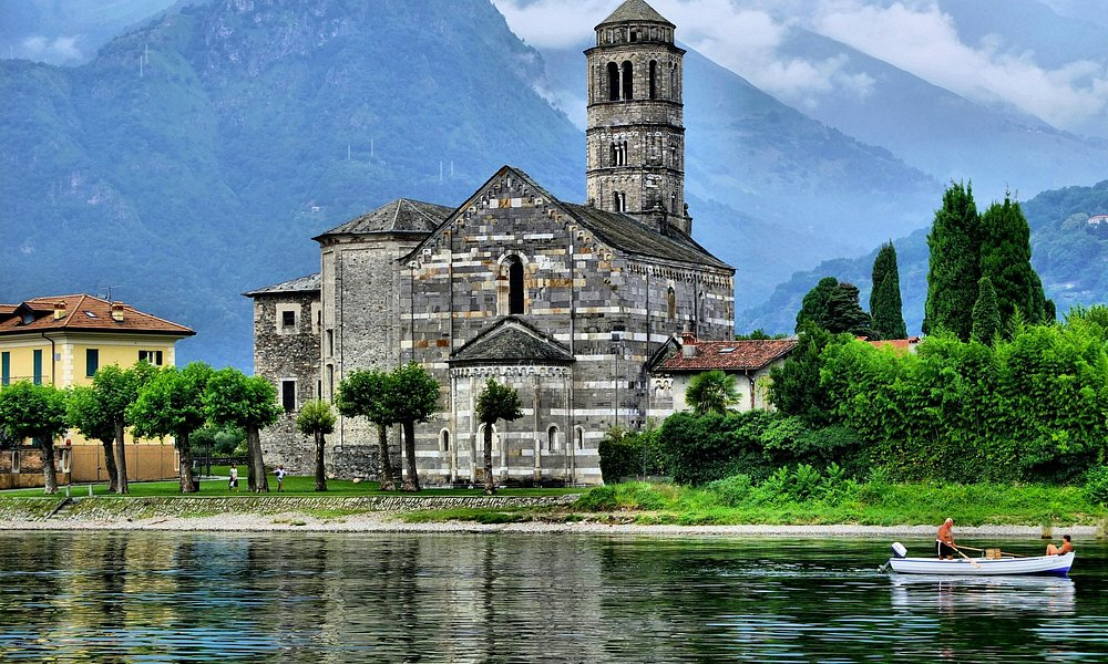 15th Century Church of Saint Maria of Tiglio - Gravedona