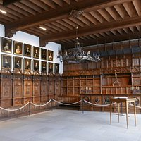 Friedensaal /Peace Hall in Town Hall of Muenster