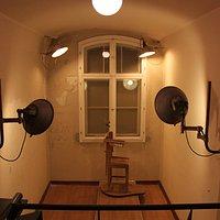 Lindenstrasse Prison, photo room, Potsdam