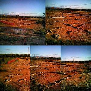 Collage fotografico dell'area