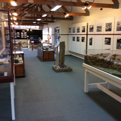 Newly decorated with new displays and stories.