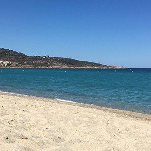 La plage au repos