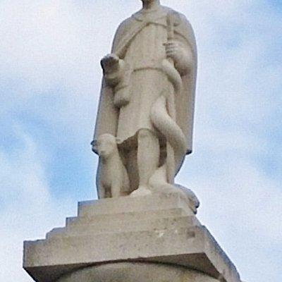 St. Patrick Statue, The Octagon, Westport, Ireland, July 2016