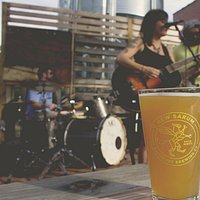 Paper Wasps music with icey cold beer