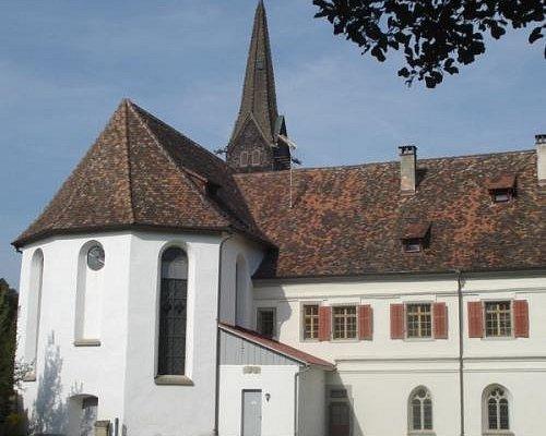 Klosterkirche Paradies/Schlatt auf dem Jakobsweg