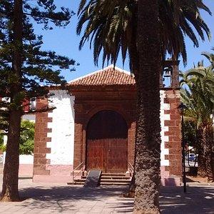 Fachada de la Iglesia de San Juan Bautista de La Laguna