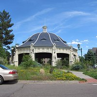 Beautiful building that was part of Elitch Garden Park - I believe it was the Merry-Go-Round
