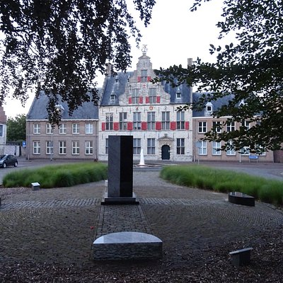 Zeeuws slavernij-monument voor de Sint-Jorisdoelen uit 1582