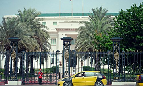 The Presidential Palace in Dakar, Senegal