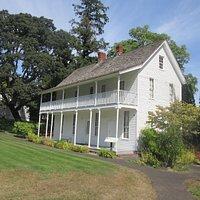Jason Lee House, Willamette Heritage Center, Salem, Oregon