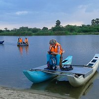 Lagoon Ecotours by boat available 6-8am and 4-6pm daily.
