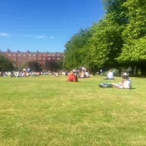 View from Fitzwilliam Square Park