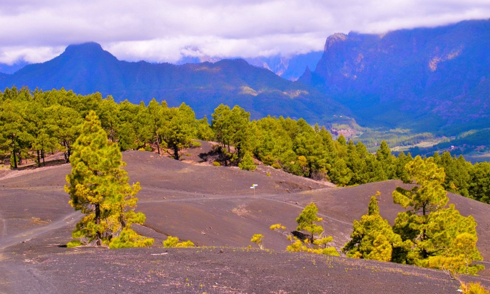 A stunning view of the Caldera