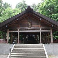 開拓神社の入口