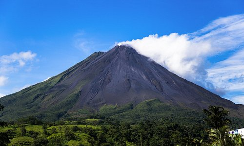 Arenal Volcano Early Morning