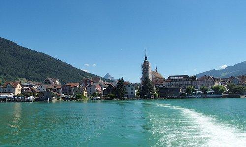 A Lake side village