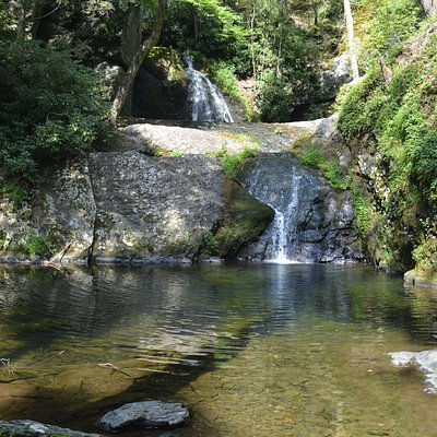 halfway point reward...beautiful waterfall