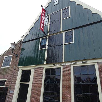 museumgebouw;'t Houten Huis; Museum van het Schermereiland