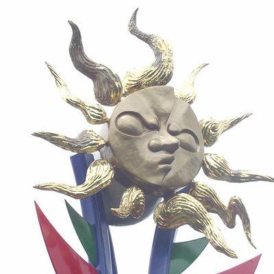岡本太郎 若い太陽の塔