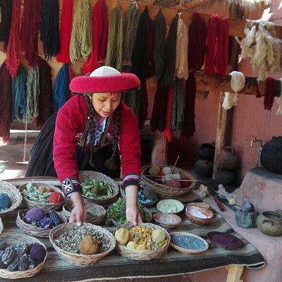 centro de demostracion de textil.....