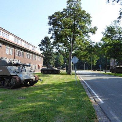Scherman's and Centurion tanks