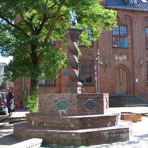 Danmarks mindste rytterstatue