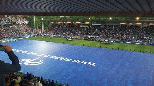 France Ecosse du 4 juin 2016 : 3 - 0