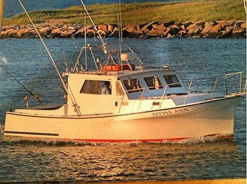 Alyssa Ann fishing Montauk since 1971