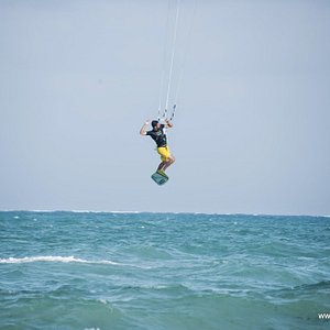 Once a year a trip to Zanzibar. This is Bas, great instructor!