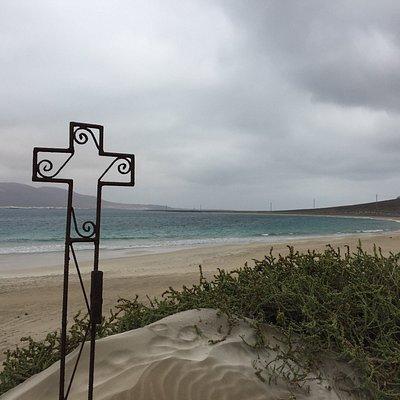 Camino de Los Gracioseros hacia la playa del Risco