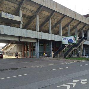 Strahov stadium - Extérieur