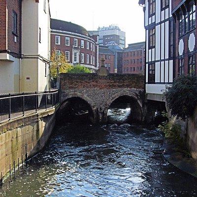 Il ponte visto da media distanza