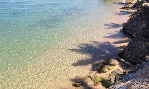 Crystal water in Hidden Caribbean paradise.... Epic spot!