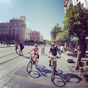 Bike tour en Sevilla!