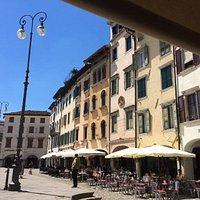 Piazza Grande mucho calor en este verano