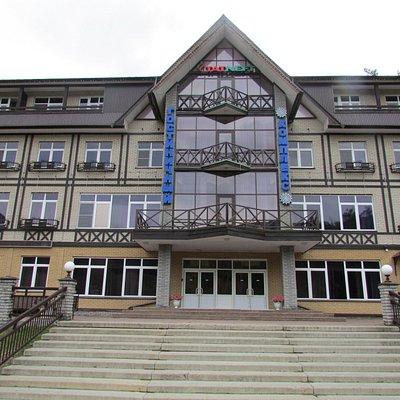 Гостиничный комплекс на горнолыжном курорте