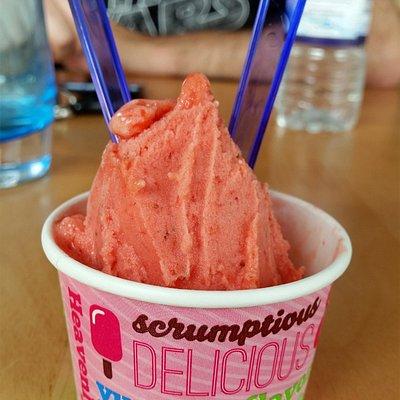 Strawberry Sorbet