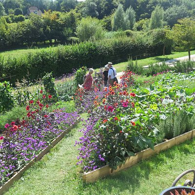 One of the beds at Perch Hill Farm
