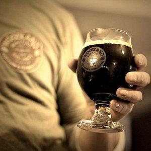 Woodland Farm Brewery glassware