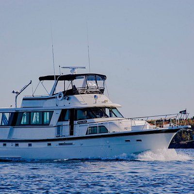 Stella Di Mare, our 58 foot Hatteras M/V