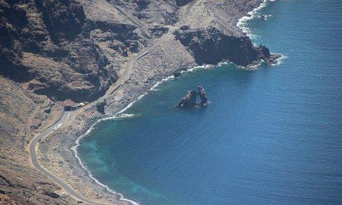 Roque de la Bonanza vom Mirador aus