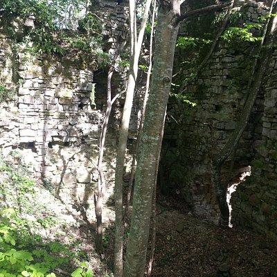 Sislioba kalesi kalıntıları