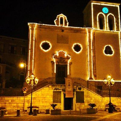 chiesa San Cirillo by night