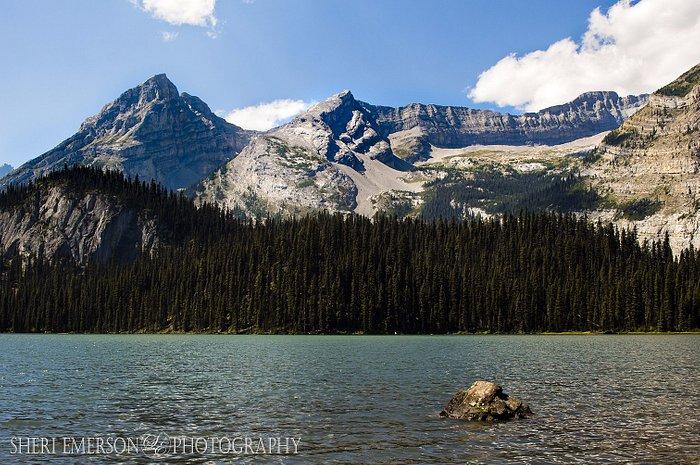 Lower Elk Lake, Elk Lakes Provincial Park, British Columbia