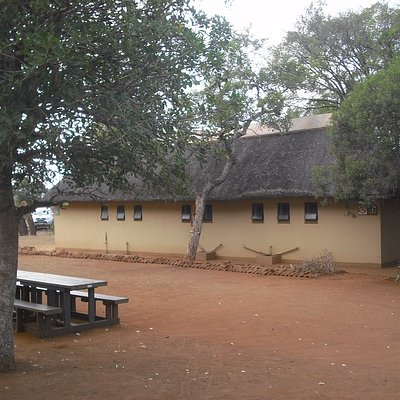 Toilet block and tables