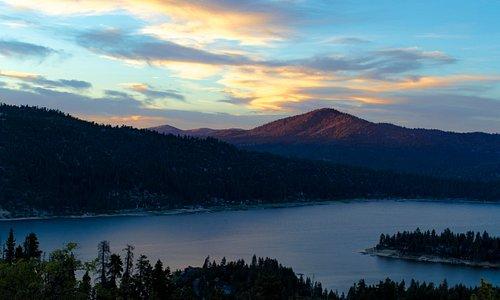 Big Bear Lake summer sunset