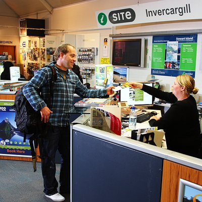Come and see the friendly team at the Invercargill i-Site