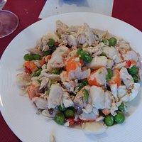 salpicón de pescado