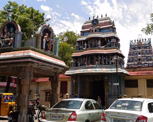 Another view of Temple Entrance